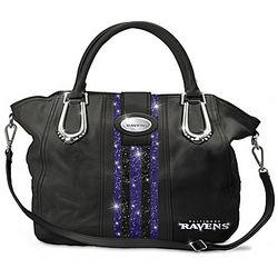 Baltimore Ravens Charm City Chic Handbag