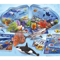 Ocean Animal Adventures Play and Learn Set