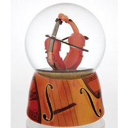 Amazing Violins Waterglobe with Ceramic Base