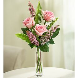 Love's Embrace Pink Rose Bouquet