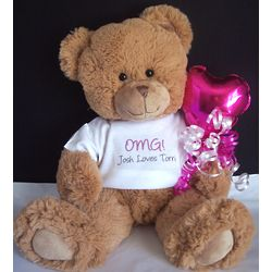 OMG! Personalized Teddy Bear