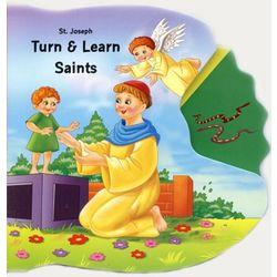 St. Joseph Turn & Learn Saints Book