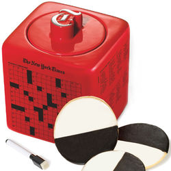 New York Times Red Cookie Jar