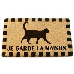 Guard Cat Doormat