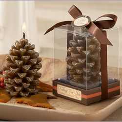 Scented Pine Cone Candle Favors