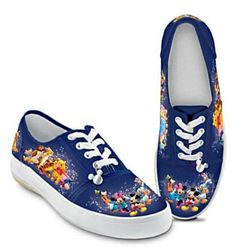Wonderful World of Disney Artistic Women's Canvas Shoes