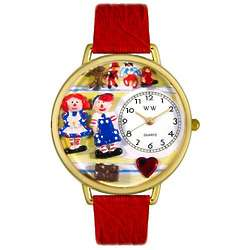 Raggedy Ann and Andy Personalized Watch