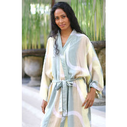 Women's Emerald Beach Batik Robe