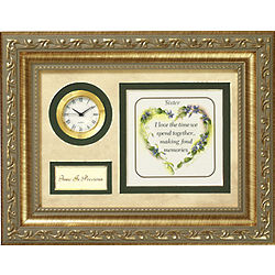 Time is Precious Sister Plaque