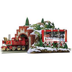 Mountain Tunnel Budweiser Christmas Train Accessory