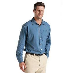 Men's UPF 50+ Summer Weight Solid Shirt