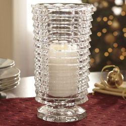 Crystal Hurricane Candleholder