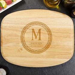 Celtic Circle Personalized Wood Cutting Board