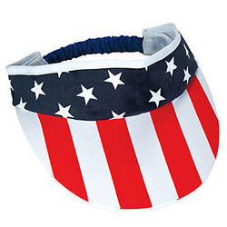 12 Stars and Stripes Visors