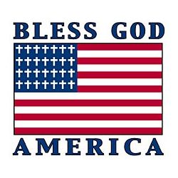 Bless God America Flag T-Shirt