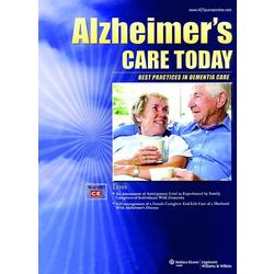 Alzheimer's Care Today Magazine Subscription