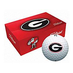 Georgia Bulldogs Collegiate Golf Balls