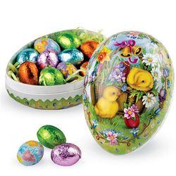 Candy-Filled Decoupage Egg