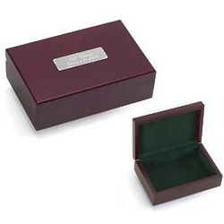 Personalized Cherry Finish Keepsake Box