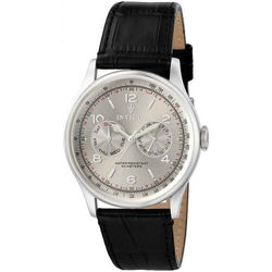 Men's Vintage Multifunction Leather Watch