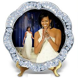 Michelle Obama Inaugural Events Collector's Plate