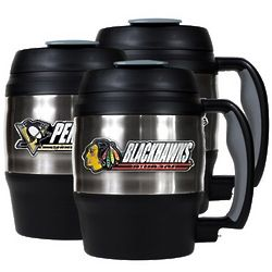 NHL Mini Keg with Built-In Bottle Opener