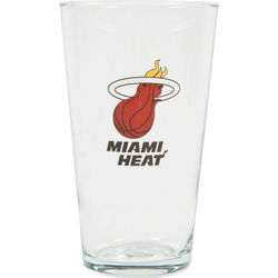 Miami Heat Pint Glass