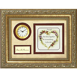 Time is Precious Friendship Plaque