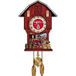 Farmall Times Barn-Shaped Cuckoo Clock