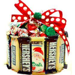 Holiday Candy Bar Cupcake