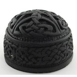 Irish Peat Celtic Paperweight