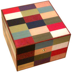 Italian Inlaid Multicolor Jewelry Box for Men