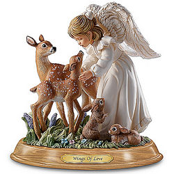 Wings of Love Guardian Angel Figurine