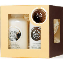 Coconut Mini Shower and Moisture Set