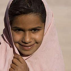 "Bedouin Girl 8"" x 10"" Photo"