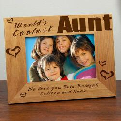 Coolest Aunt Frame