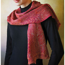 Jamavar Wool Scarf
