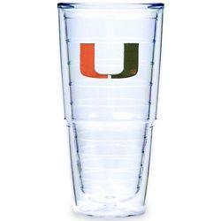 24 oz. Big T Miami Hurricanes Tumbler