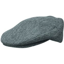 Herringbone Traditional Wool Blend Cab Hat
