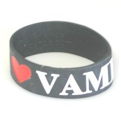 I Love Vampires Statement Band