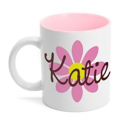 Spring Flower Name Coffee Mug