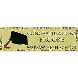 Finito Graduation Banner