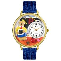 Teacher Teddy Bear Personalized Watch