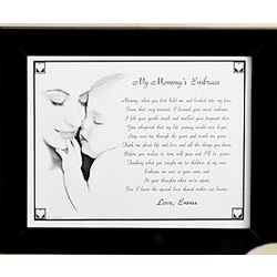 Personalized My Mommy or Grandma Embrace Print