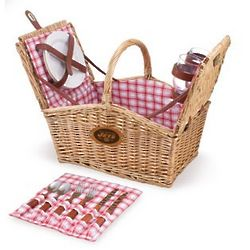 New York Jets Piccadilly Willow Picnic Basket