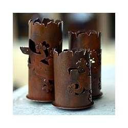 Starlight Geckos Iron Candleholders