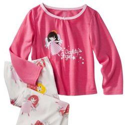 Daddy's Angel Girl's Pajama Set