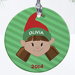Personalized Christmas Character Ornaments