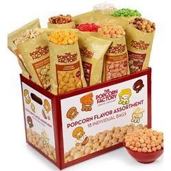 18 Pack Popcorn Sampler