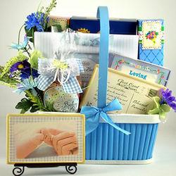 Heaven Sent Baby Gift Basket